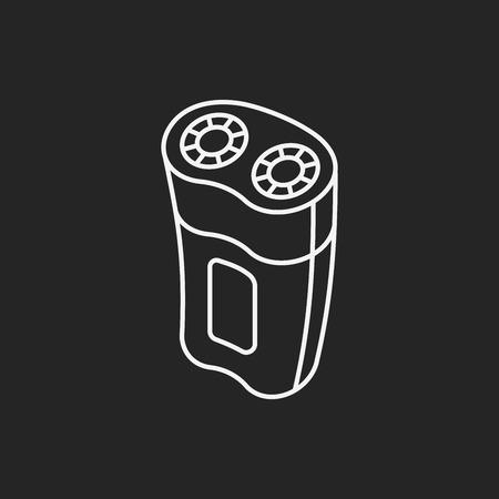 razor: razor line icon