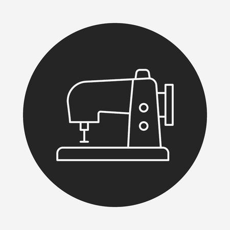 batidora: utensilios de cocina icono de línea batidor