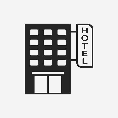 hôtel icône
