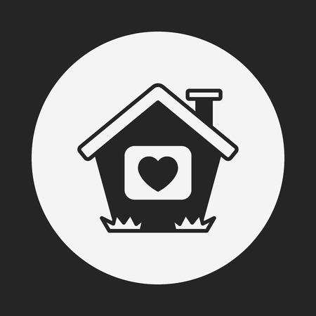 love my house: love house icon