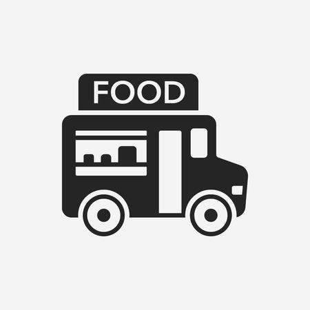 vendor: vendor carts icon Illustration