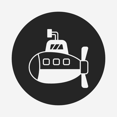 periscope: submarine icon