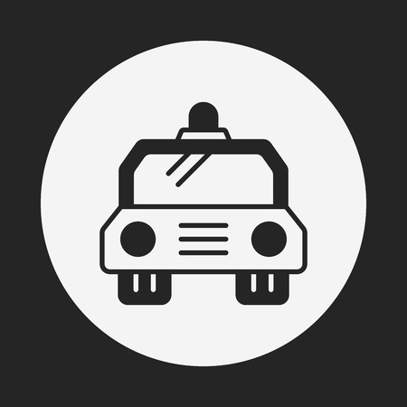 politieauto: police car icon