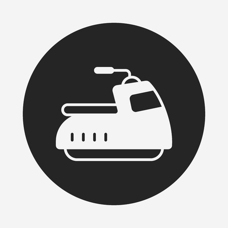 cruising: water motor icon