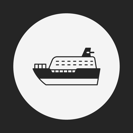 ship icon: ship icon Illustration