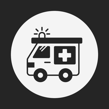 emt: ambulance icon