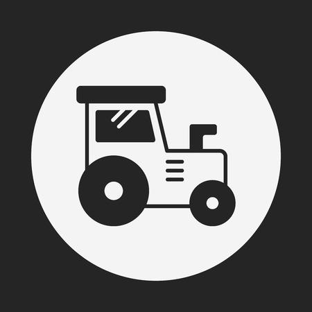 fast driving: truck icon Illustration
