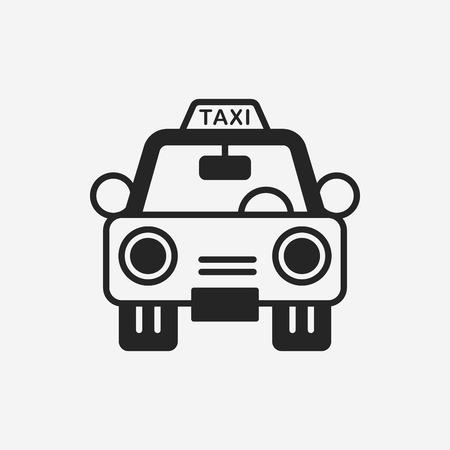 servicios publicos: icono de taxi