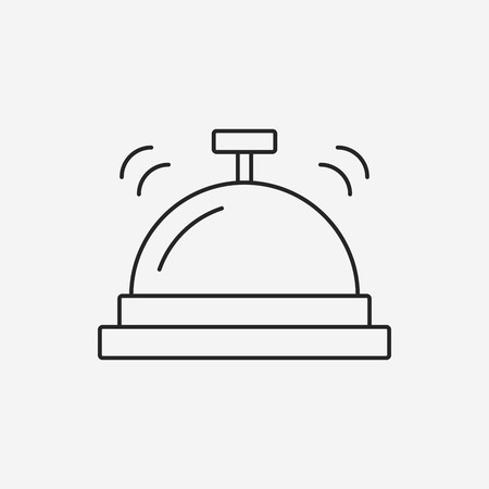 assist: hotel bell icon