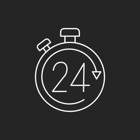 keep up: Limited delivery line icon