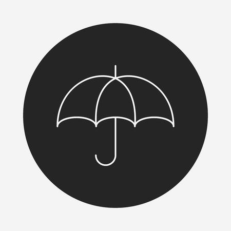 dry: Keep dry line icon