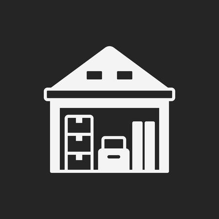 freight: logistics freight warehouse icon