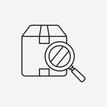 shipment: logistics freight line icon