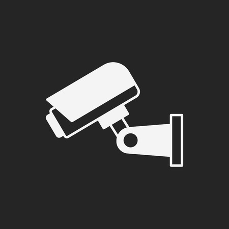 private viewing: surveillance icon Illustration