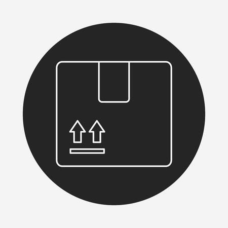 freight: logistics freight line icon