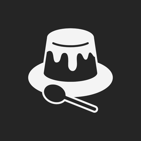 custard: pudding jelly icon