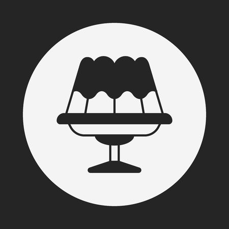 pudding: pudding jelly icon