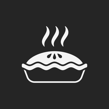 blueberry pie: pie icon