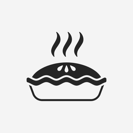 rebanada de pastel: icono de la empanada