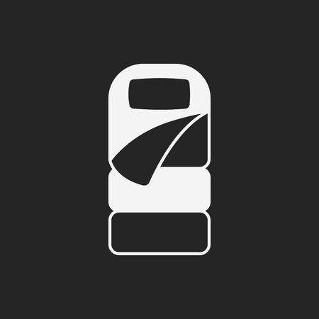 sleeping bag: Sleeping bag icon