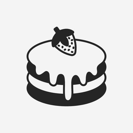 pancake icon Ilustração