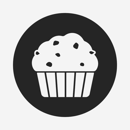 Dessert Kuchen Icon Lizenzfrei Nutzbare Vektorgrafiken Clip Arts