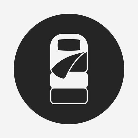sleeping bags: Sleeping bag icon