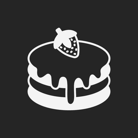 pancake: pancake icon Illustration