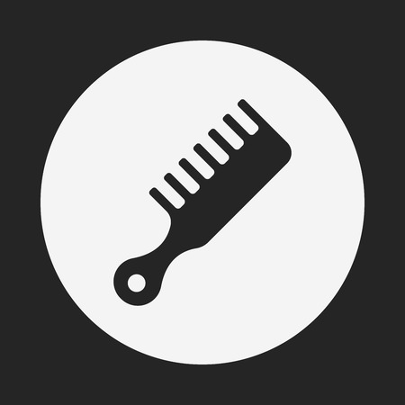 comb: comb icon Illustration