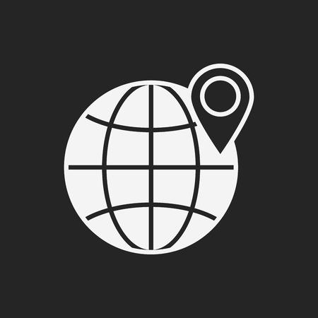 icono mundial de Internet