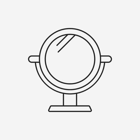 mirror line icon