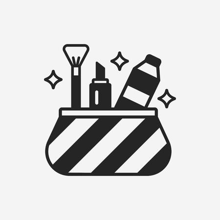 Cosmetische pictogram  Stock Illustratie