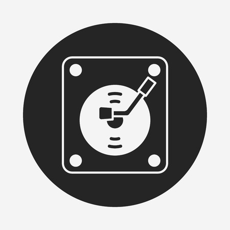 record player: record player icon