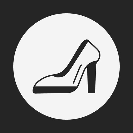 heel: high heel icon