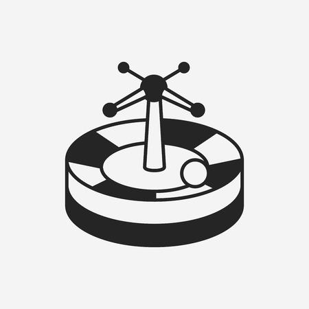 casino wheel: Casino Roulette icon