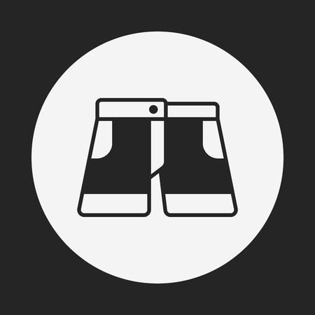 pants: pants icon Illustration