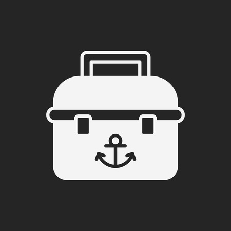 bait box: fishing box icon