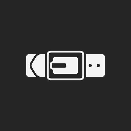 strap on: Strap icon Illustration