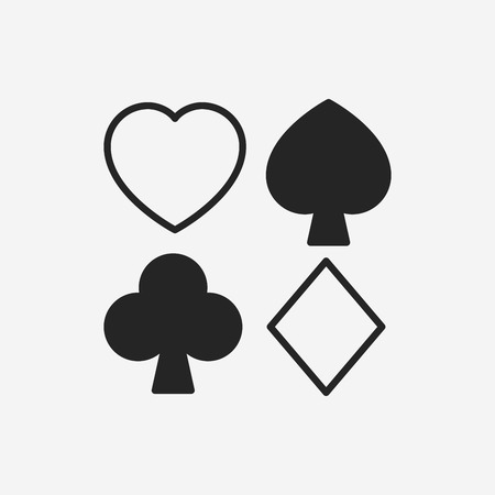 gambling game: poker icon