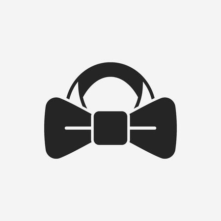 Necktie icon Illustration