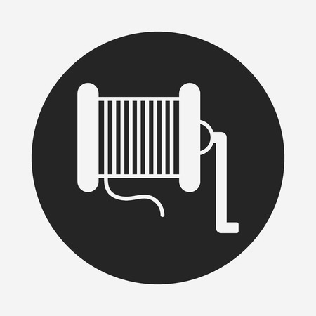 fishhook: Fishing line icon