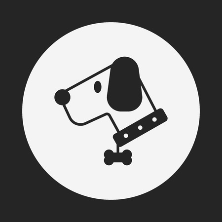 doggies: pet dog icon Illustration