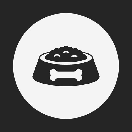 pet dog food icon
