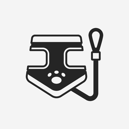 lead: dog lead icon Illustration
