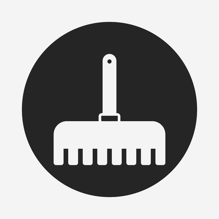 hand trowels: gardening shovel icon