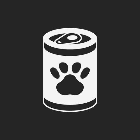 animal feed: pet dog food icon