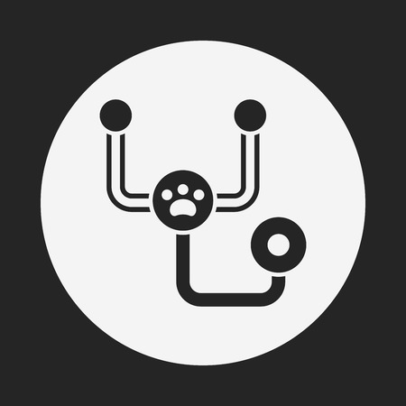 stethoscope icon: Stethoscope icon Illustration
