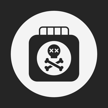 pesticida: Icono de Plaguicidas Vectores