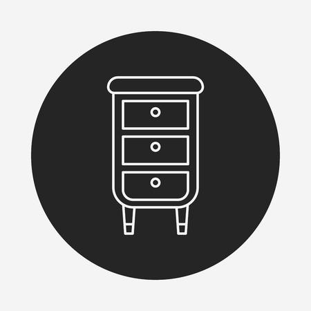 closet: closet line icon