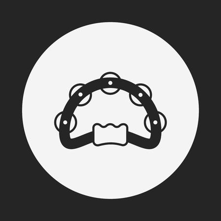 tambourine: Tambourine icon